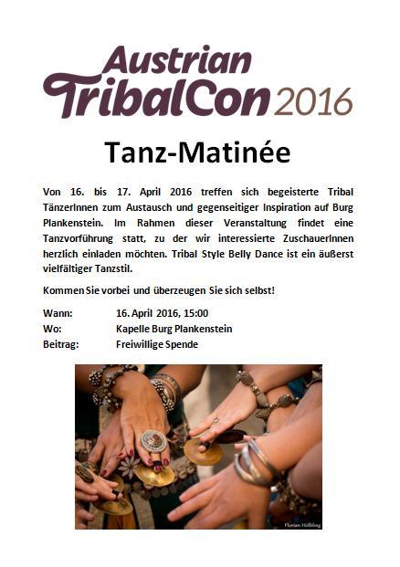 Österreichische Tribalconvention, 16.-17. April 2016