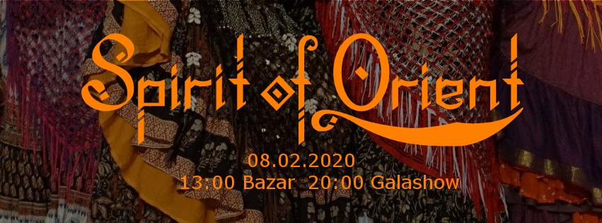 Wüstenrosen @ Spirit of Orient in Hamburg 2. Februar 2020